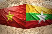 Vietnam y myanmar — Foto de Stock