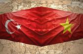 Vietnam and Turkey — Stock Photo