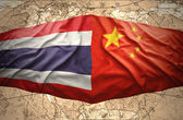 Thailand and China — Foto Stock