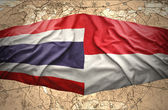 Tajlandia i indonezja — Zdjęcie stockowe