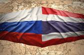 Thailand and Russia — Stock Photo