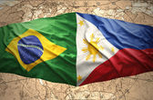 Philippines and Brazil — Stock Photo