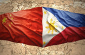Philippines and China — Stock fotografie