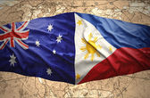 Philippines and Australia — Stock Photo