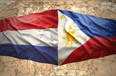 Philippines and Netherlands — Stock Photo