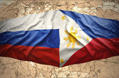Philippines and Russia — Stock Photo