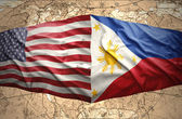 Philippines and United States of America — Stock Photo