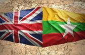 Myanmar and United Kingdom — Stock Photo