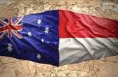 Indonesia and Australia — Stock Photo