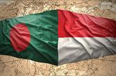 Indonesia and Bangladesh — Stock Photo