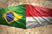 Indonesia and Brazil — Stock Photo