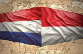 Indonesia and Netherlands — Stock Photo