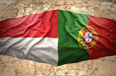 Indonesia and Portugal — Stock Photo
