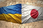 Ukraine and Japan — Stock Photo