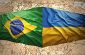 Ukraine and Brazil — Stock Photo