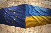 Ukraine and European Union — Stock Photo