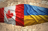 Ukraine and Canada — Stock Photo