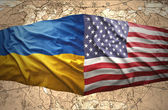 Ukraine and United States of America — Stock Photo