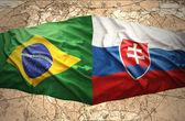 Slovakia and Brazil — Stock Photo