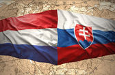 Slovakia and Netherlands — Foto Stock