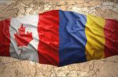 Romania and Canada — Stock Photo