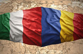 Romania and Italy — Stockfoto