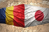 Romania and Japan — Foto Stock