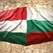 Stock Photo: Hungary and Bulgaria