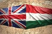 Hungary and United Kingdom — Stock Photo