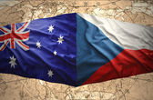 Czech Republic and Australia — Stock Photo