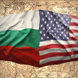 Bulgaria and United States of America — Stock Photo