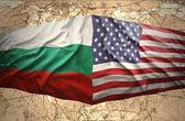 Bulgaria and United States of America — Stock Photo