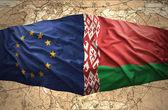 Belarus and European Union — Stock Photo