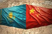 Kazakhstan and China — Stock fotografie