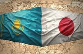 Kazakhstan and Japan — Foto Stock