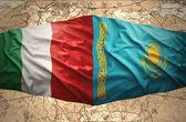 Kazakhstan and Italy — Foto Stock