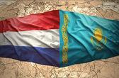 Kazakhstan and Netherlands — Stock fotografie