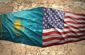 Kazakhstan and United States of America — Stok fotoğraf