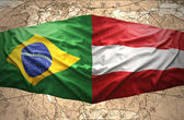 Austria and Brazil — Stock Photo