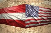 Austria and United States of America — Stock Photo