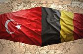 Belgique et en turquie — Photo