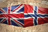 Norway and United Kingdom — Stock Photo