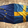Sweden and European Union — Stock Photo #40633781