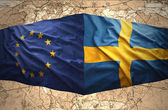 Sweden and European Union — Stock Photo