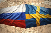 Sweden and Russia — Stock Photo