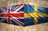 Sweden and United Kingdom — Stock Photo