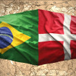 Stock Photo: Denmark and Brazil