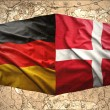 Stock Photo: Denmark and Germany