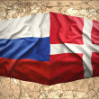 Stock Photo: Denmark and Russia