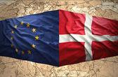 Le danemark et l'union européenne — Photo